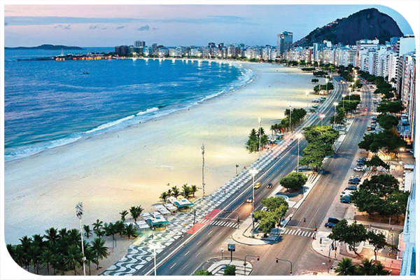 Copacabana beach | vía amazingplaces